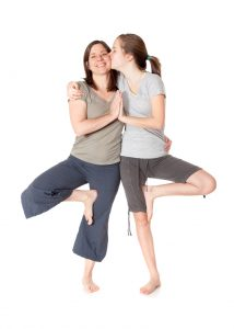 yoga.tree pose.love